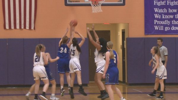 Lawrence girls upset Hampden in the Broncos' final game before facing Skowhegan