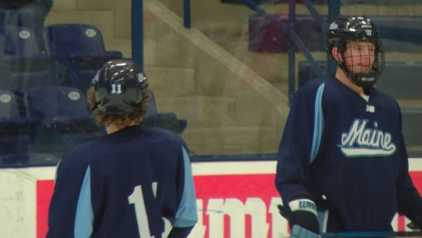 Georgia natives become linemates for Maine men's hockey