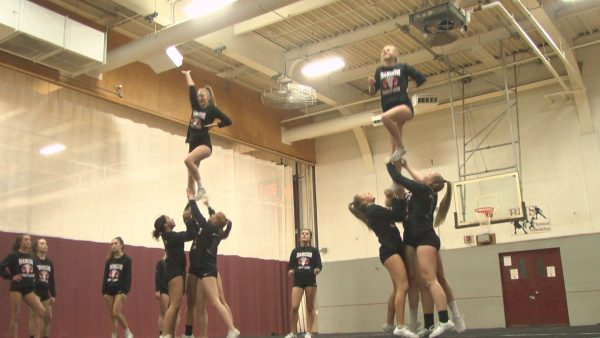 Bangor cheerleading's road to a state title repeat begins this weekend