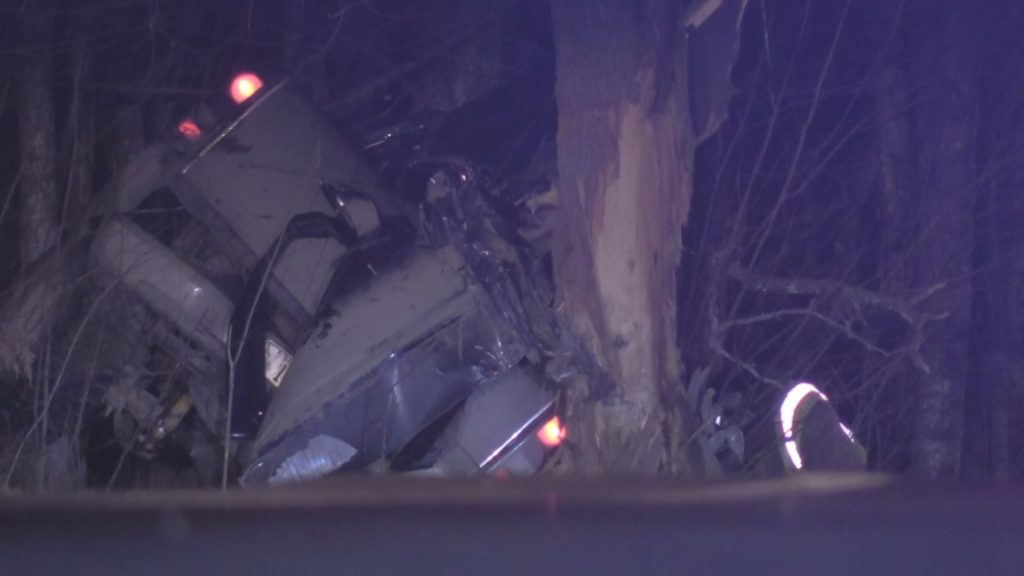 One person transported to hospital following Alton crash