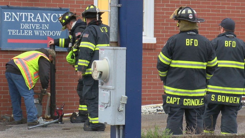 Fire officials investigate gas leak in Bucksport