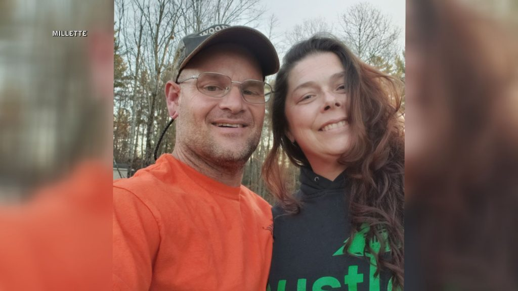 Missing woman found after spending night in Maine woods
