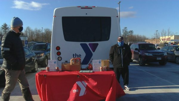 Waldo County YMCA hosts food drive