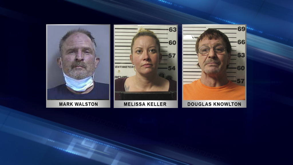 Fire marshals charge 3 with arson