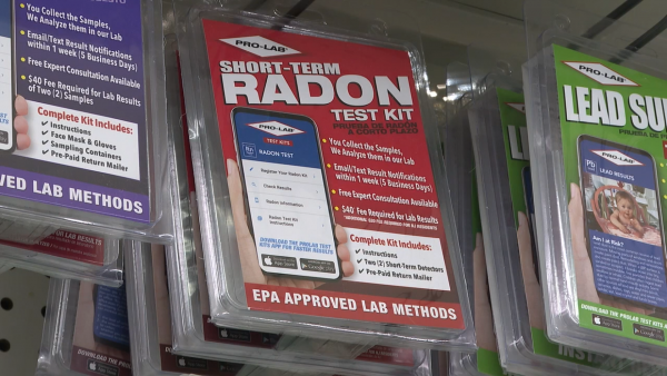 New data shows where radon levels are elevated
