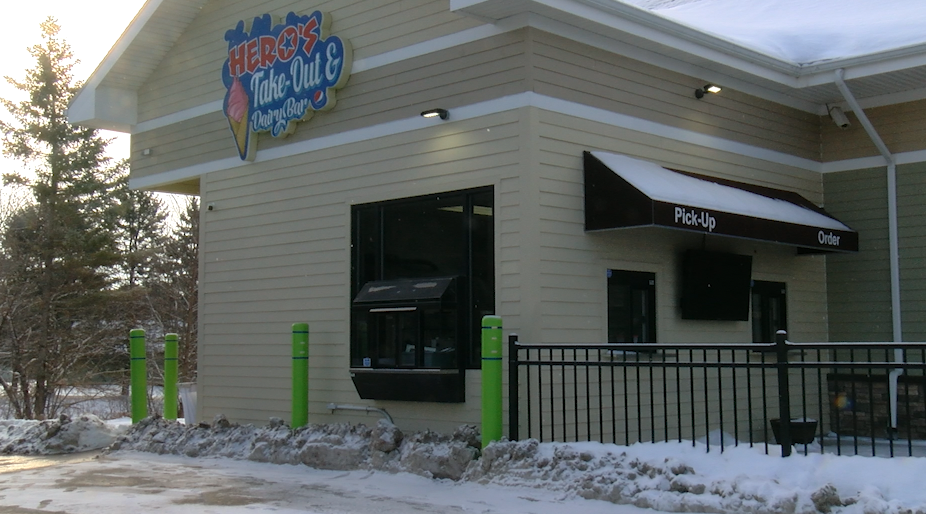 Hero's new drive-thru and take-out coming soon