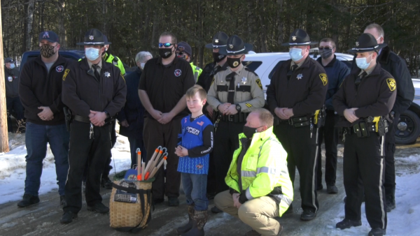 Sheriff thanks 8-year-old for good deed