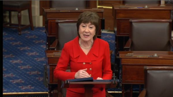 Collins says American Jobs Plan too costly