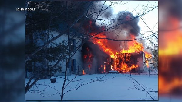 Century old farmhouse destroyed by fire