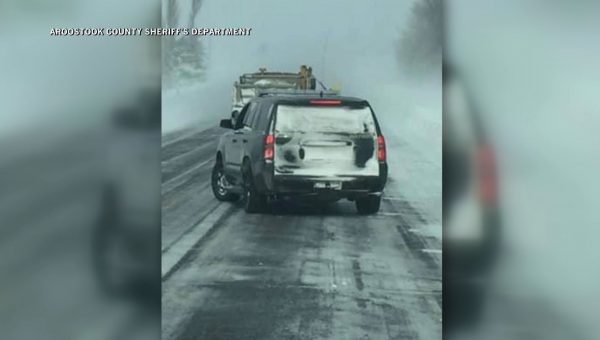 Poor visibility and road conditions cause multi-vehicle crash