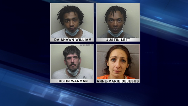 Exeter drug bust yields 4 arrests