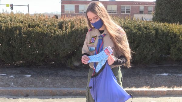 Maine sees first female Eagle Scout