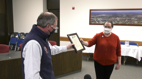 March proclaimed Red Cross Month