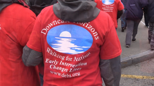 Walk in Ellsworth raises awareness for Autism