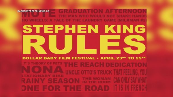 Online Stephen King film festival starts Friday
