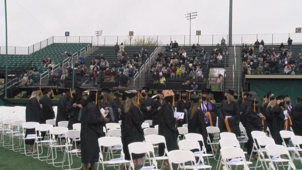Husson hosts in-person graduation