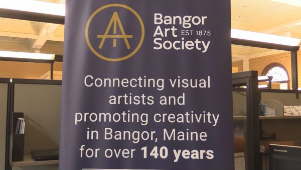 Bangor Art Society work on display at EMDC
