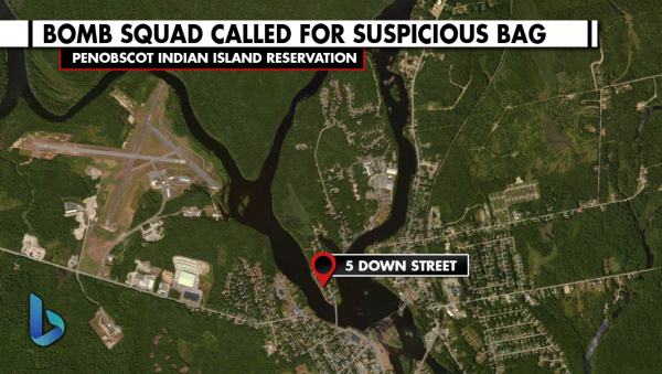 Bomb squad called to Indian Island for suspicious package