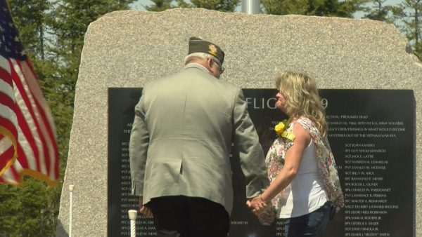 Soldiers honored with memorial based off missing Tiger Flight 739