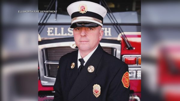 Over 100 people attend funeral of late Deputy Fire Chief Bobby Dorr of Ellsworth